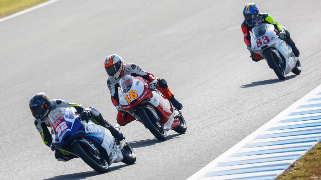 Andrea Migno, Mahindra Racing, JPN FP1