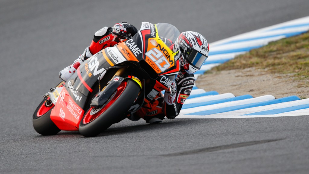 Florian Marino, NGM Forward Racing, JPN FP2