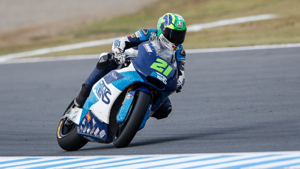 Franco Morbidelli, Italtrans Racing Team, JPN FP2