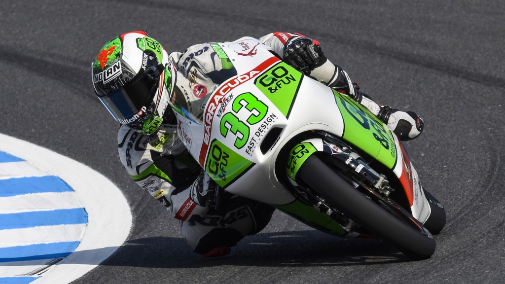 Enea Bastianini, Junior Team GO&FUN Moto3, JPN FP2