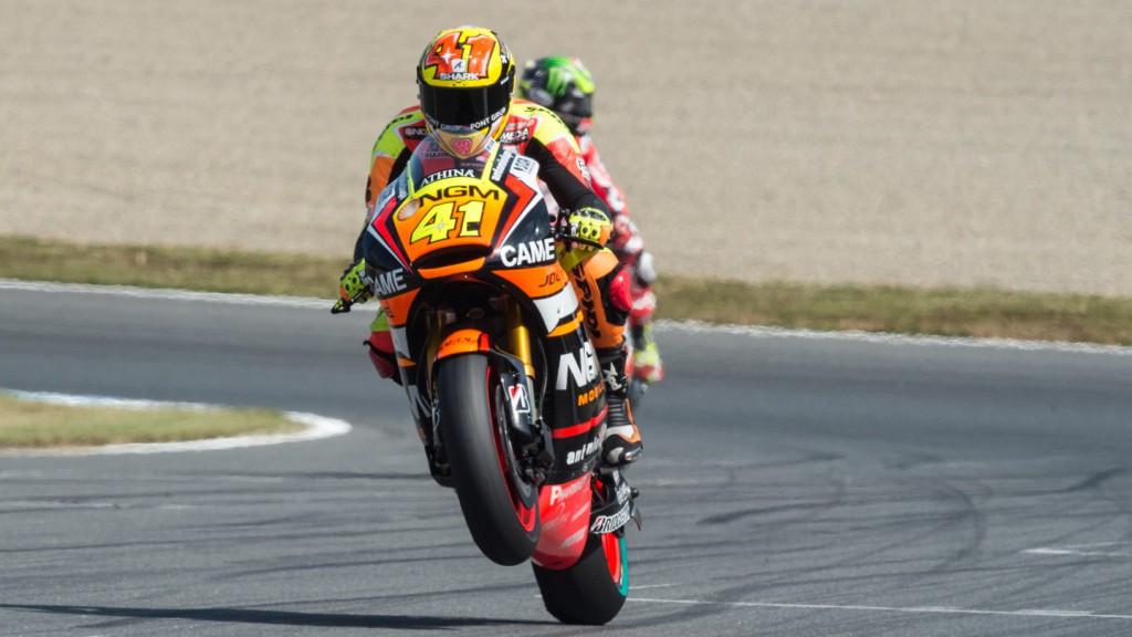 Aleix Espargaro, NGM Forward Racing, JPN FP2