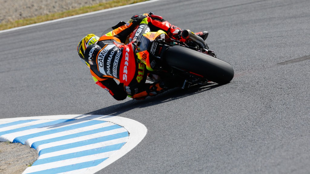 Aleix Espargaro, NGM Forward Racing, JPN FP2