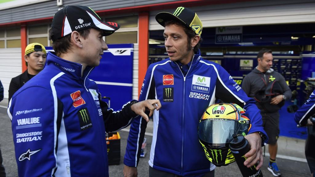 Jorge Lorenzo, Valentino Rossi, Movistar Yamaha MotoGP, JPN FP2