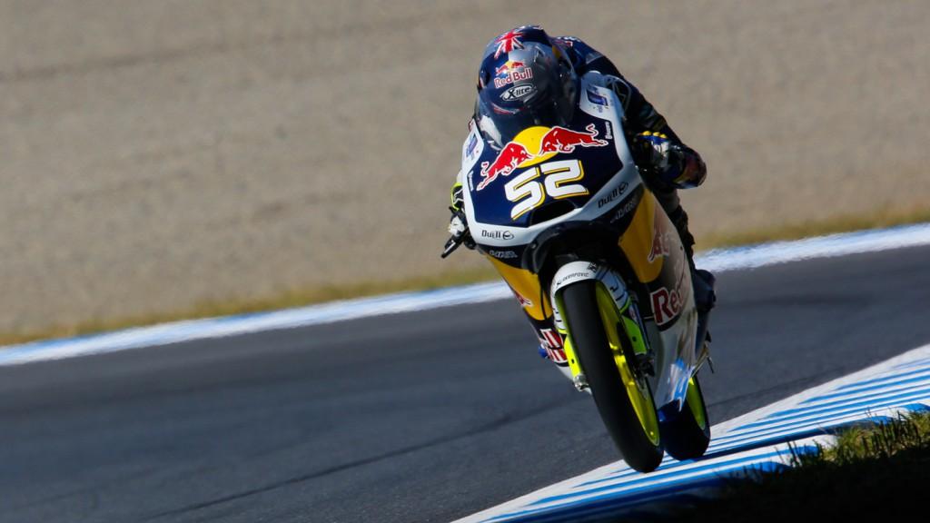 Danny Kent, Red Bull Husqvarna Ajo, JPN FP1