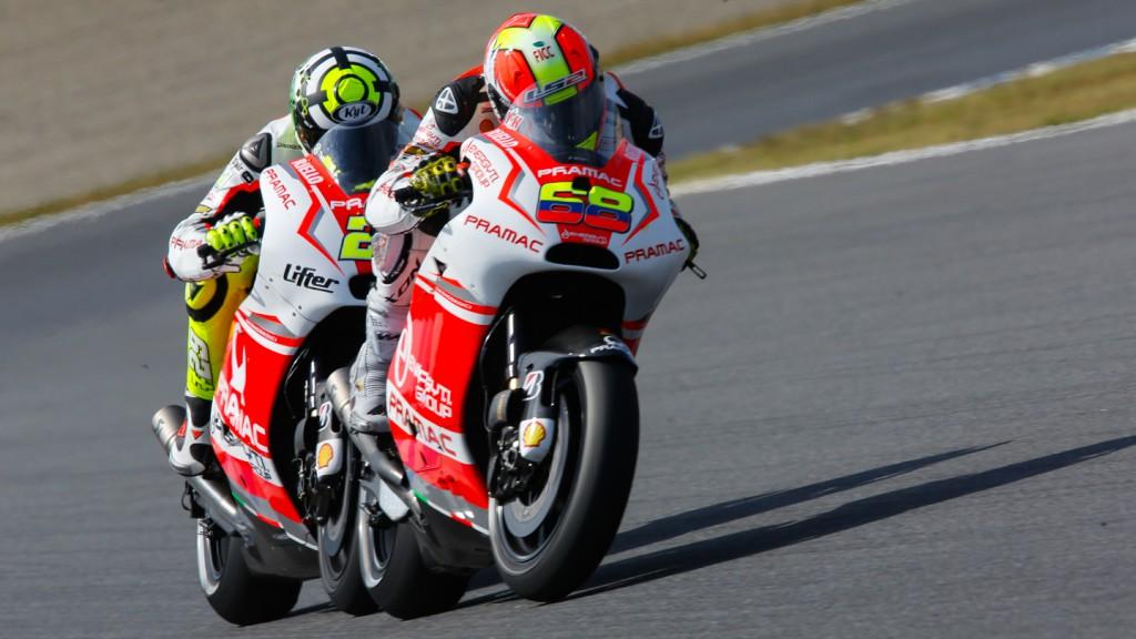 Yonny Hernandez, Andrea Iannone, Pramac Racing, JPN FP2