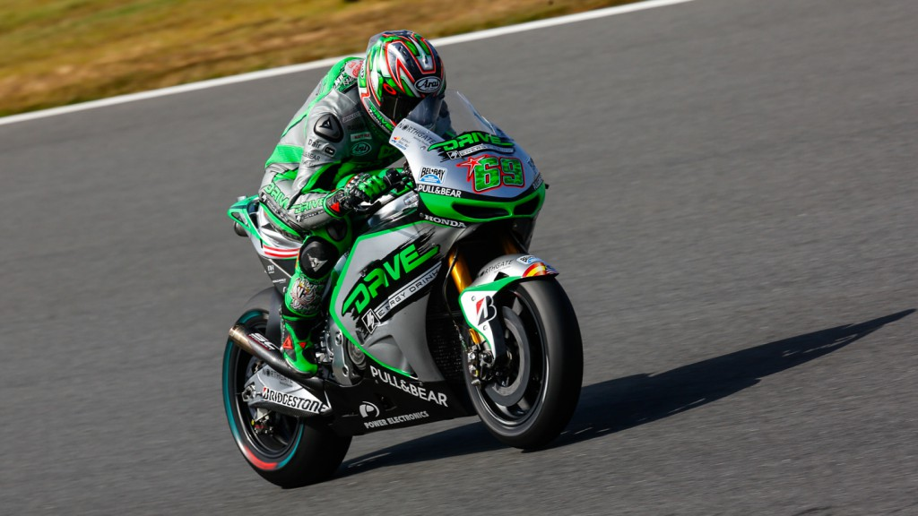 Nicky Hayden, Drive M7 Aspar, JPN FP2
