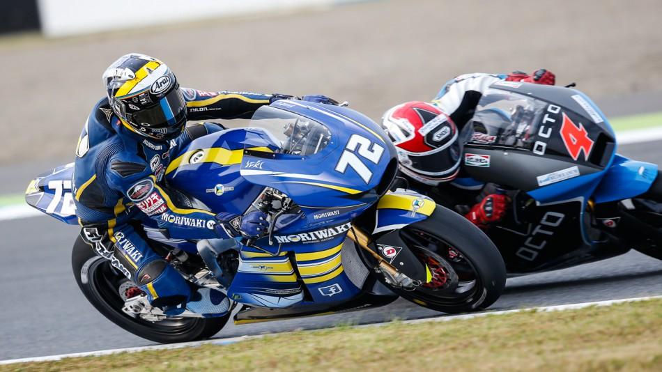 motogp.com · Yuki Takahashi, Moriwaki Racing, JPN FP2