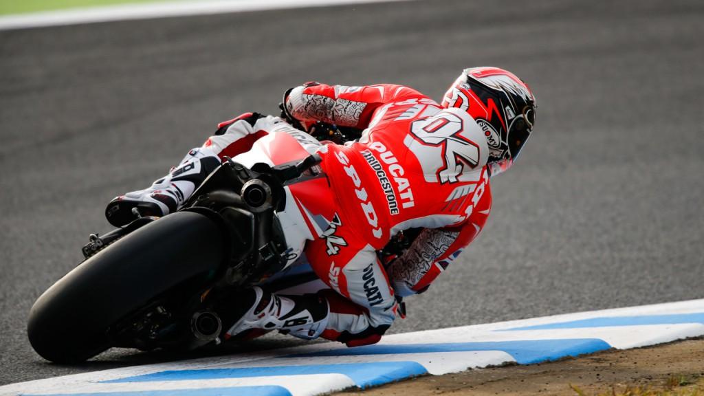 Andrea Dovizioso, Ducati Team, JPN FP3