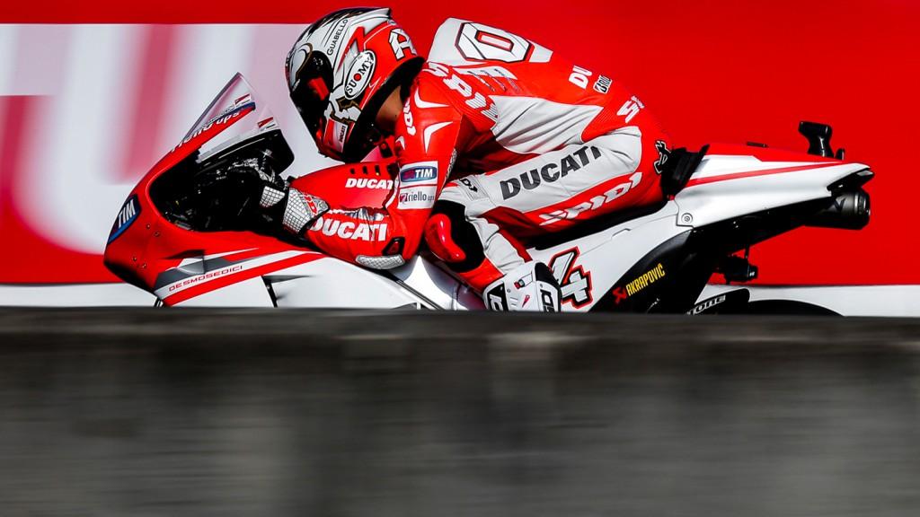 Andrea Dovizioso, Ducati Team, JPN Q2