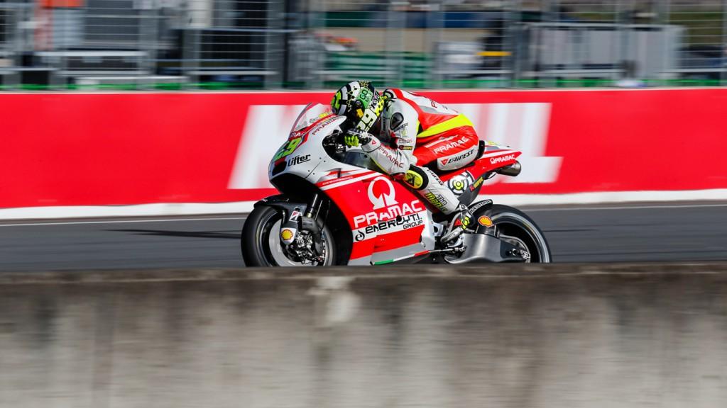 Andrea Iannone, Pramac Racing, JPN Q2