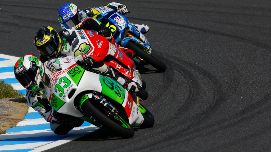 Enea Bastianini, Junior Team GO&FUN Moto3, JPN QP