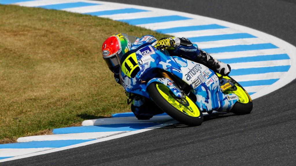 Brad Binder, Ambrogio Racing, JPN FP3