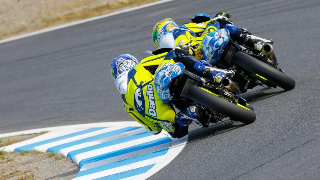 Brad Binder, Jules Danilo, Ambrogio Racing, JPN FP3