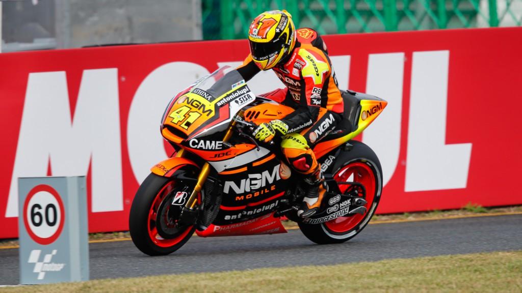 Aleix Espargaro, NGM Forward Racing, JPN FP3
