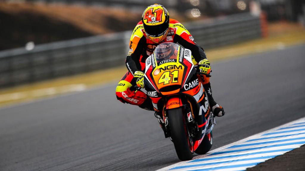Aleix Espargaro, NGM Forward Racing, JPN Q2