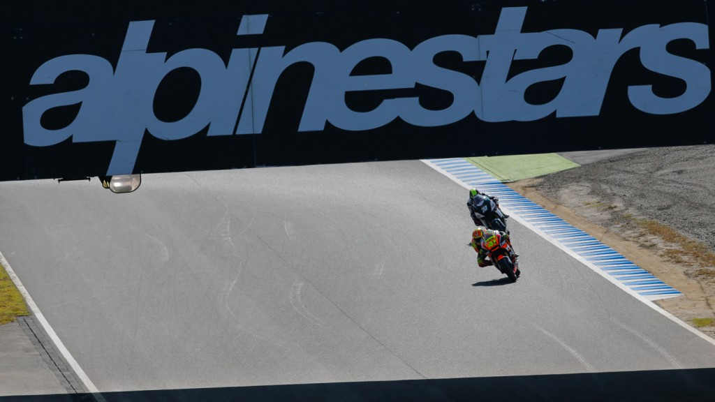 Aleix Espargaro, NGM Forward Racing, JPN Q2