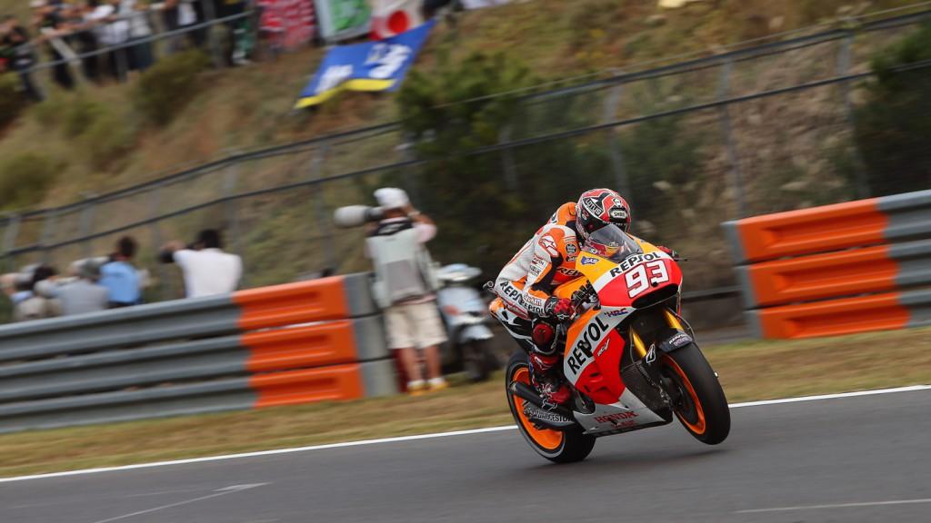 Marc Marquez, Repsol Honda Team, JPN Q2