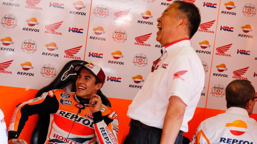 Marc Marquez, Repsol Honda Team, JPN FP4
