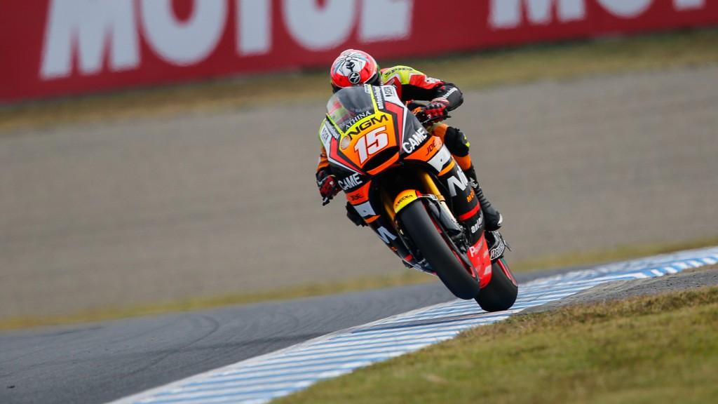 Alex De Angelis, NGM Forward Racing, JPN FP3