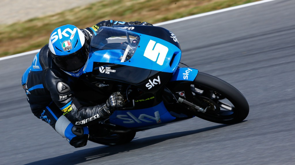 Romano Fenati, SKY Racing Team  VR46, JPN RACE