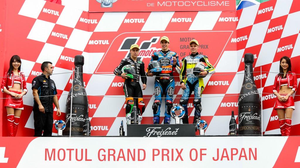 Podium Moto3, JPN RACE