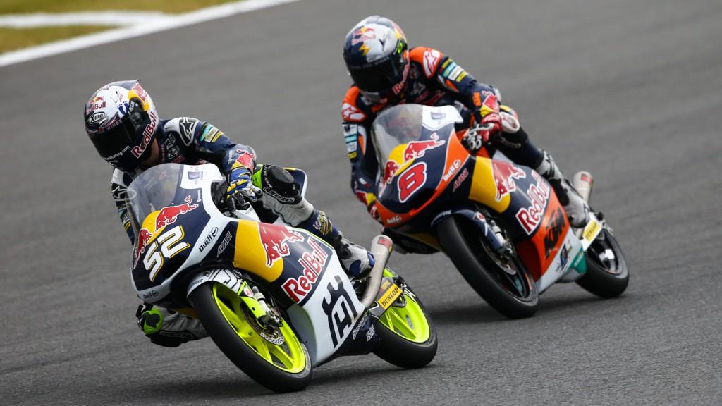 Danny Kent, Jack Miller, Red Bull Husqvarna Ajo, Red Bull KTM Ajo, JPN RACE