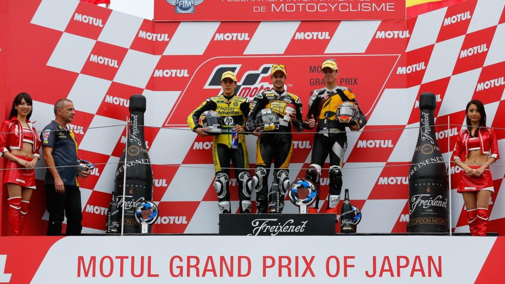 Podium Moto2, JPN RACE