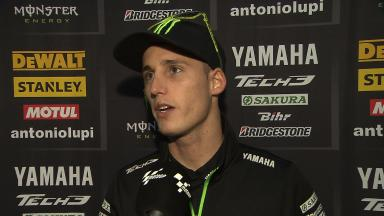 Pol Espargaro unhappy to finish eighth in Japan