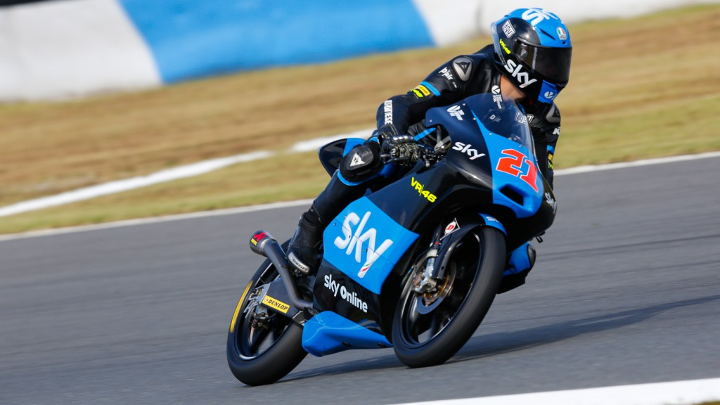 Francesco Bagnaia, SKY Racing Team  VR46, JPN RACE