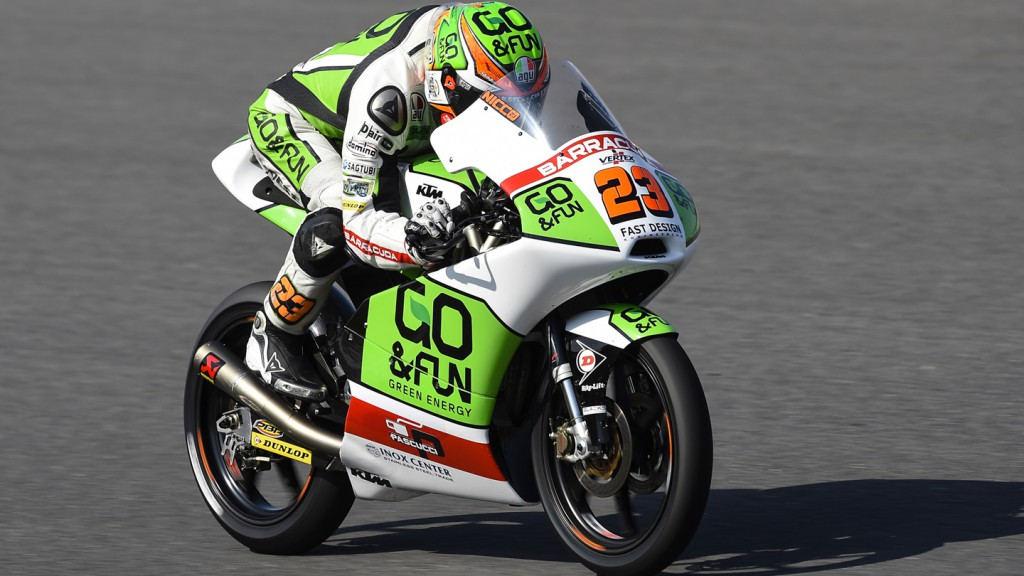 Niccolò Antonelli, Junior Team GO&FUN Moto3, JPN RACE