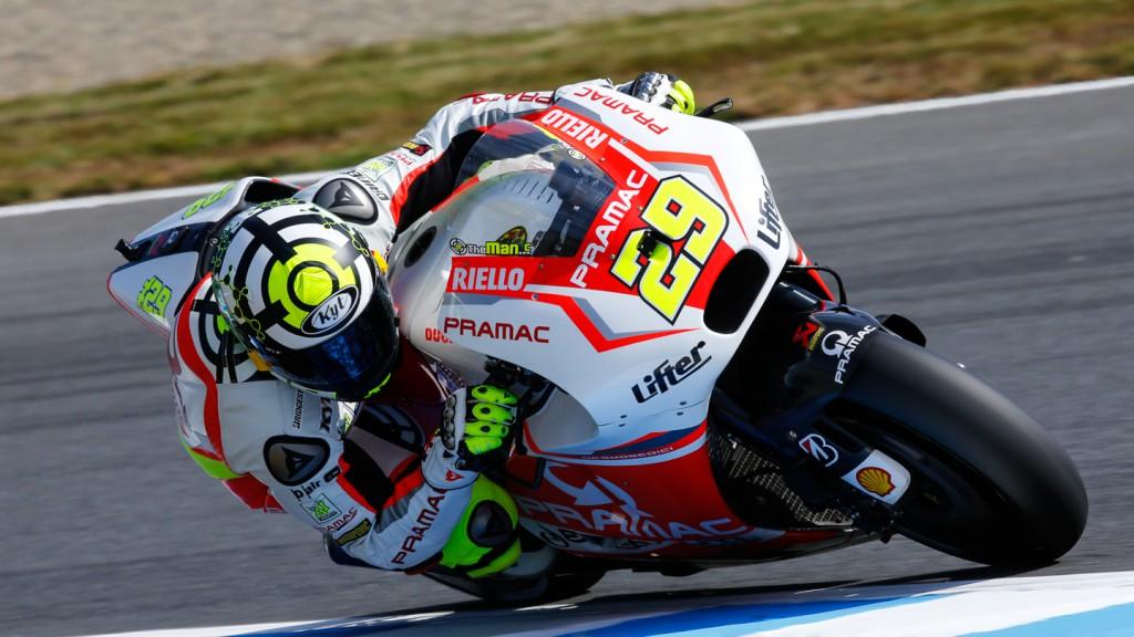Andrea Iannone, Pramac Racing, JPN RACE
