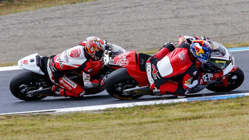 Jonas Folger, Takaaki Nakagami, AGR Team, IDEMITSU Honda Team Asia, JPN RACE