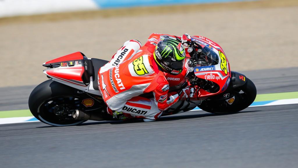 Cal Crutchlow, Ducati Team, JPN WUP