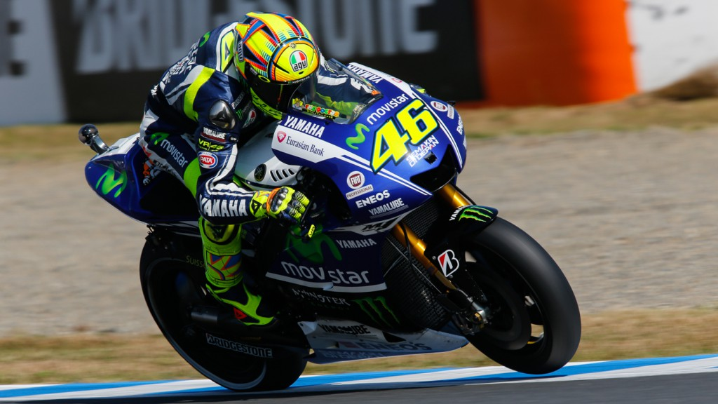 Valentino Rossi, Movistar Yamaha MotoGP, JPN RACE