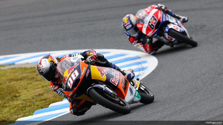 motogp.com · Karel Hanika, Zulfahmi Khairuddin, Red Bull KTM Ajo, Ongetta-AirAsia, JPN RACE