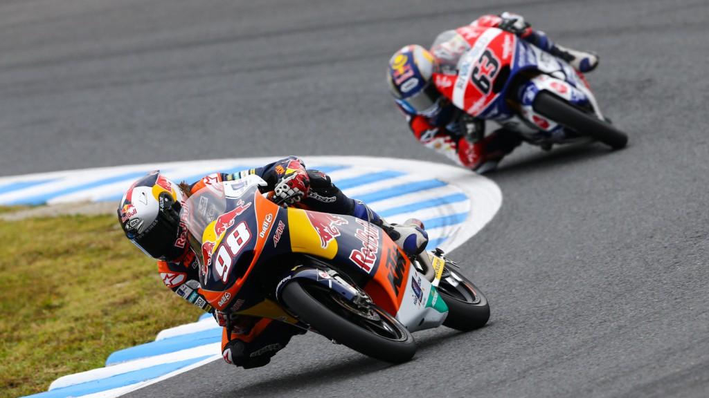 Karel Hanika, Zulfahmi Khairuddin, Red Bull KTM Ajo, Ongetta-AirAsia, JPN RACE