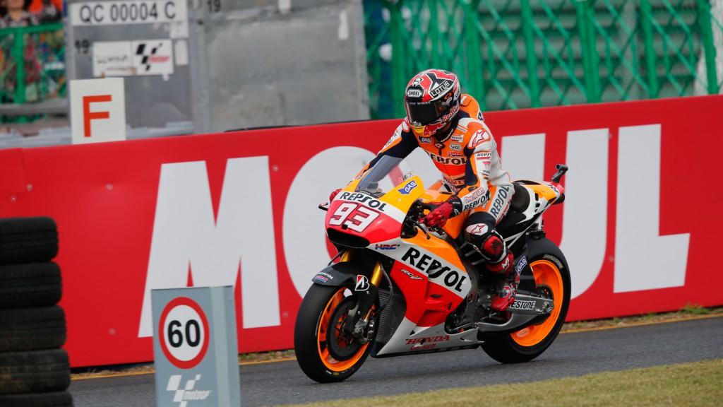 Marc Marquez, Repsol Honda Team, JPN WUP