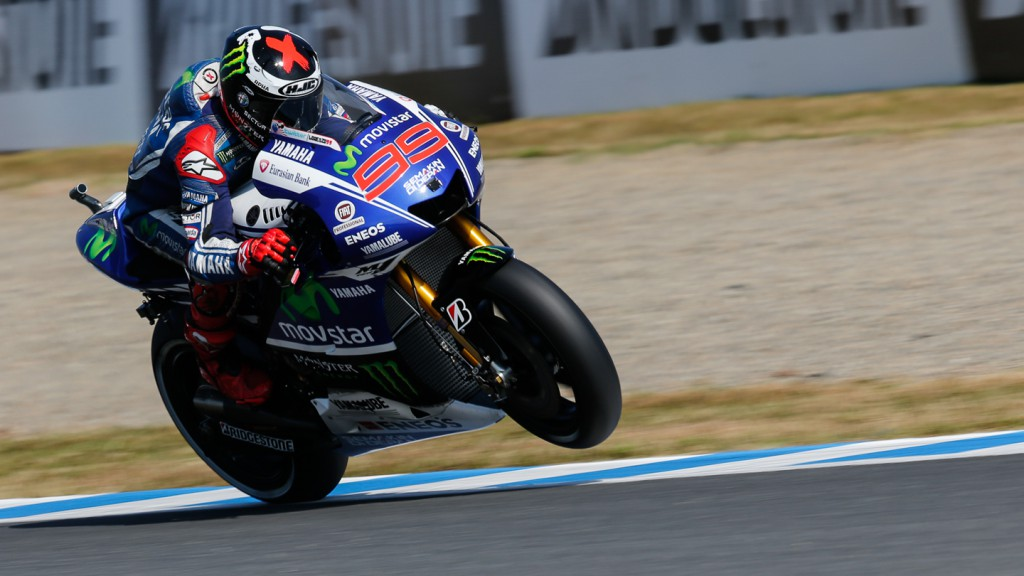 Jorge Lorenzo, Movistar Yamaha MotoGP, JPN WUP