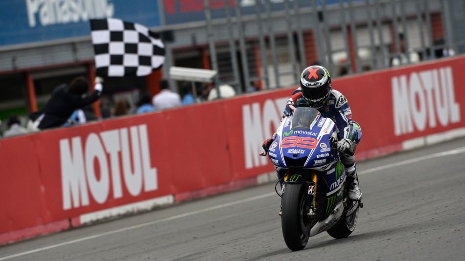 Senang bisa meraih kemenangan dalam balapan motogp motegi, jepang (12