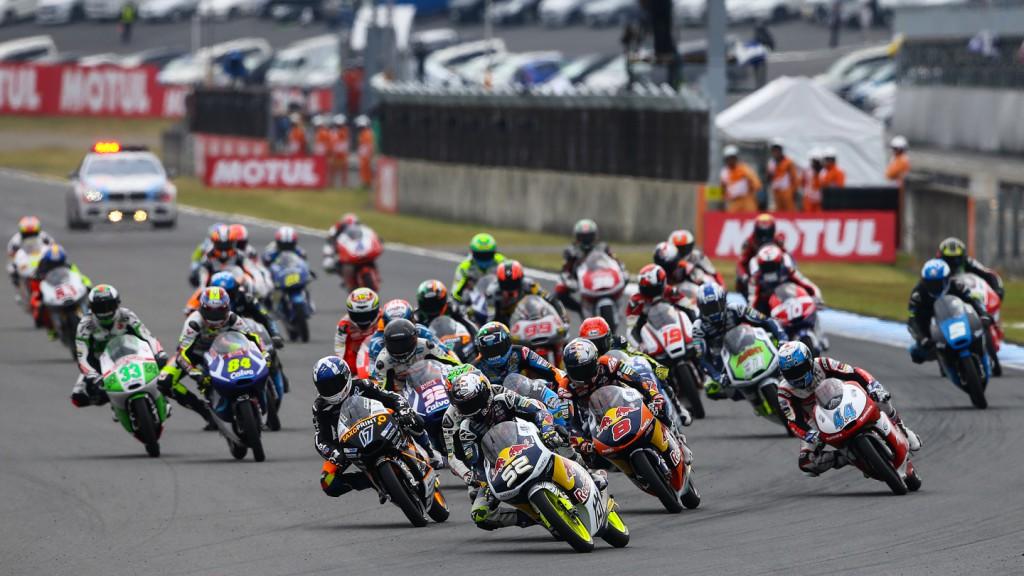 Moto3 Race Start, JPN RACE