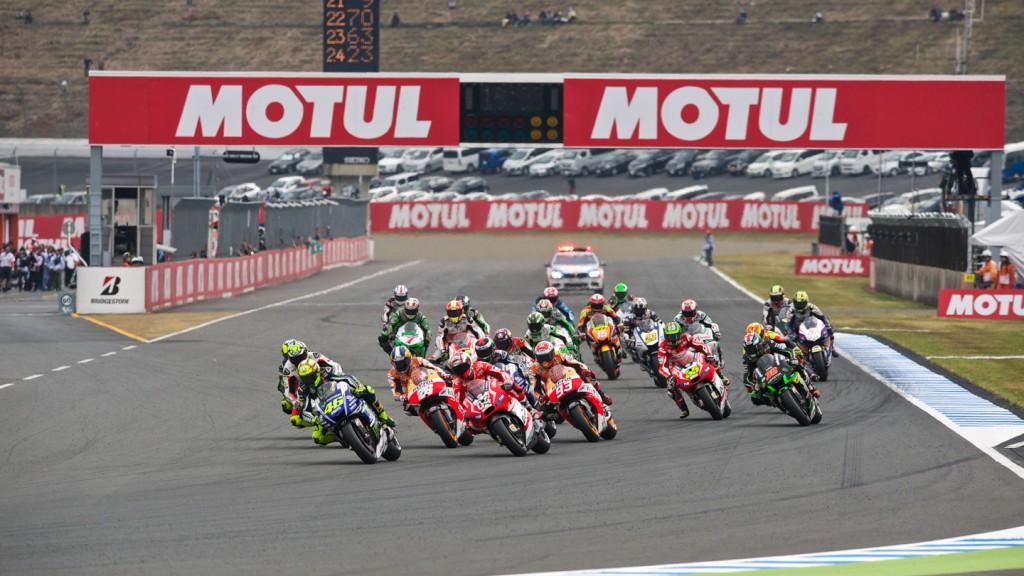 MotoGP Race Start, JPN RACE