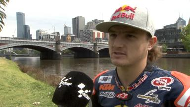 Jack Miller enjoys #RideMelbourne outing
