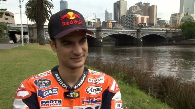 Pedrosa on #RideMelbourne experience