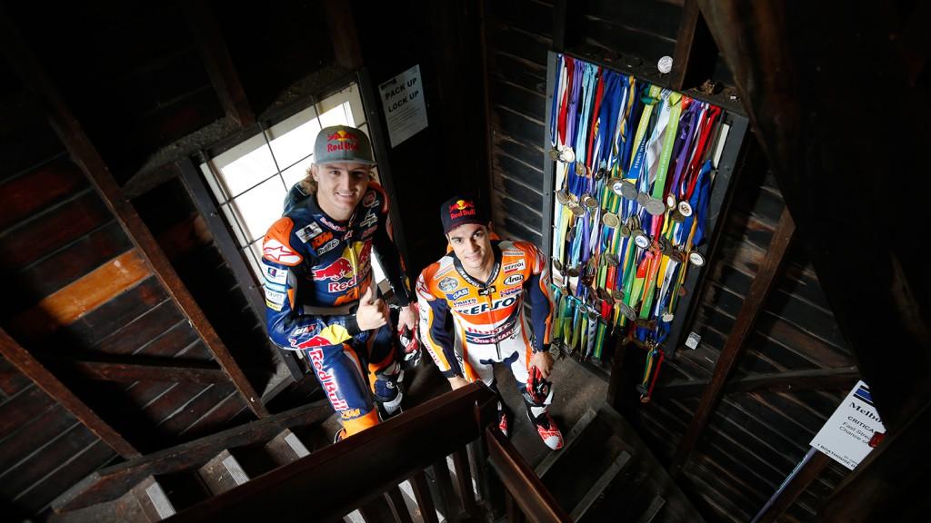 Dani Pedrosa & Jack Miller - #RideMelbourne