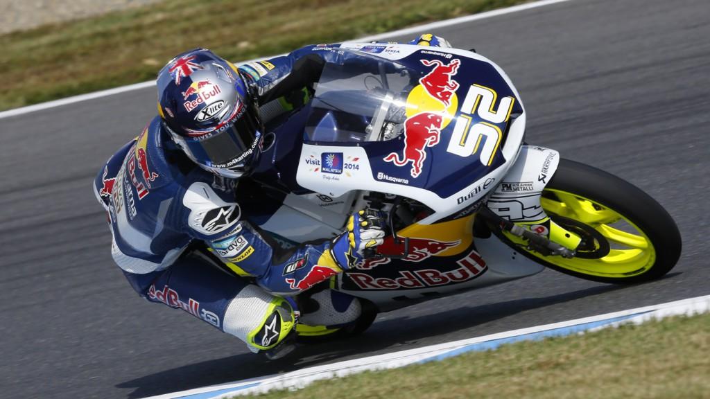 Danny Kent, Red Bull Husqvarna Ajo, AUS FP1