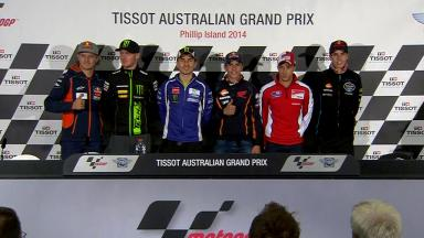 Tissot Australian Grand Prix: Pre-event Press Conference