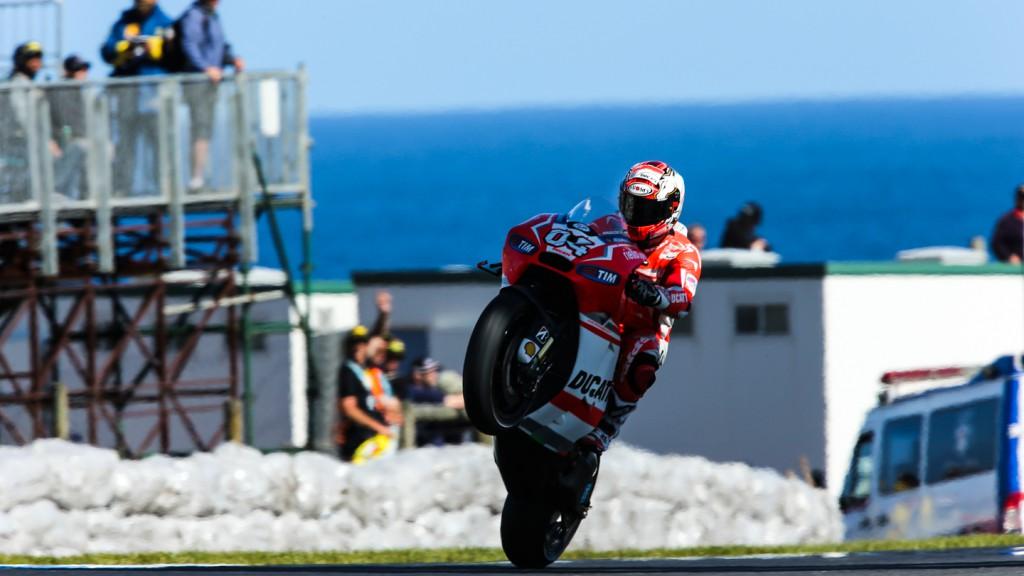 Andrea Dovizioso, Ducati Team, AUS FP2