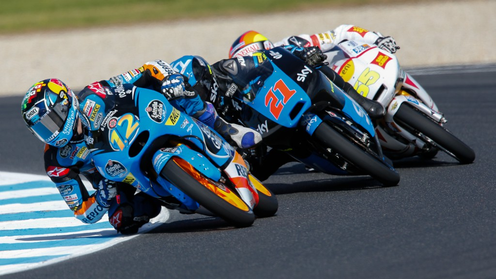 Alex Marquez, Francesco Bagnaia, Estrella Galicia 0,0, SKY Racing Team  VR46, AUS FP1