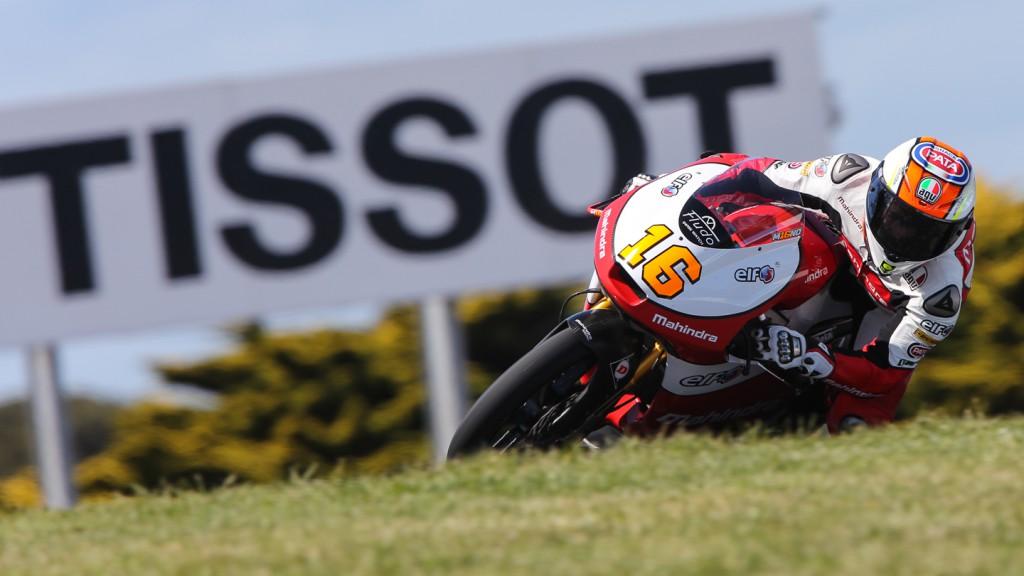 Andrea Migno, Mahindra Racing, AUS FP2