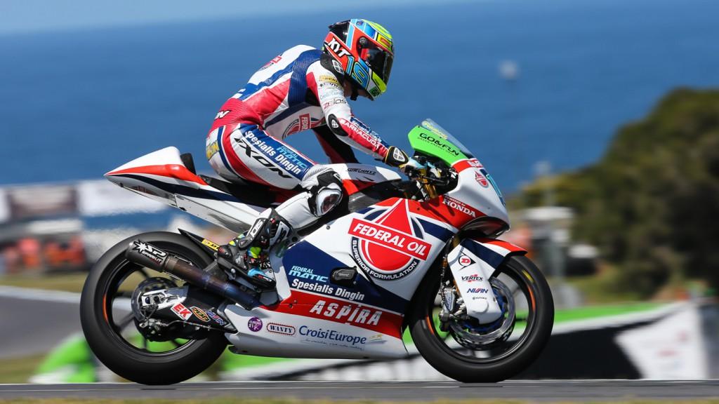Xavier Simeon, Federal Oil Gresini Moto2, AUS FP2